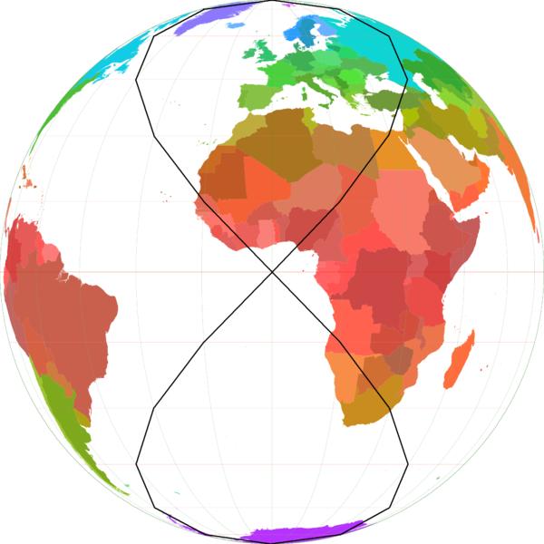 stylized globe