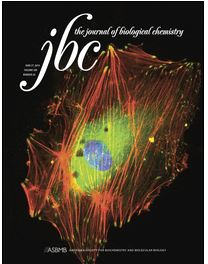 Cover image from an issue of the Journal of Biological Chemistry