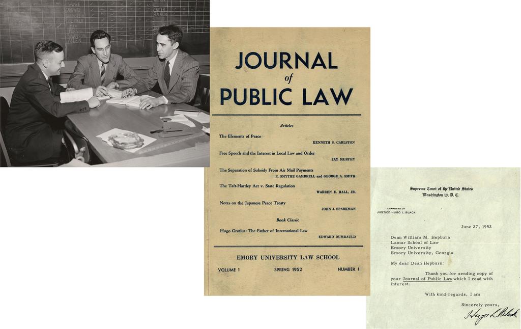 Journal of Public Law, 1952