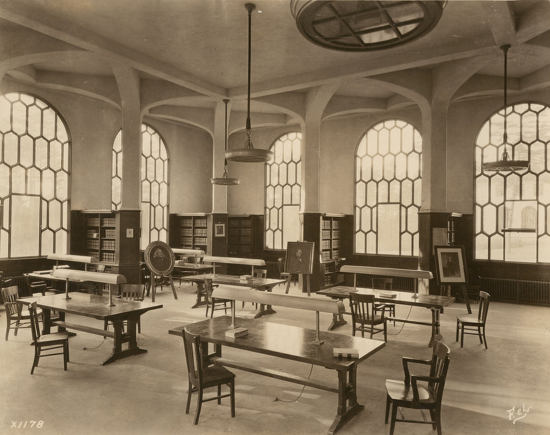 Law Library Reading Room, 1920