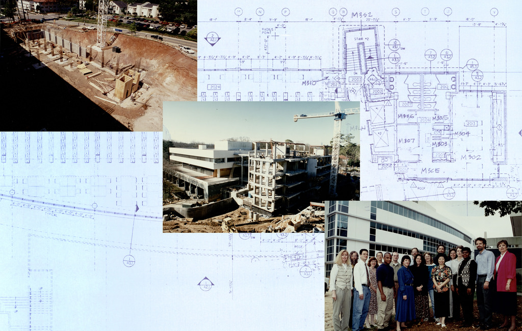 MacMillan Library Construction, 1994