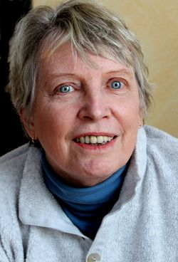 Photograph of Lois Lowry.