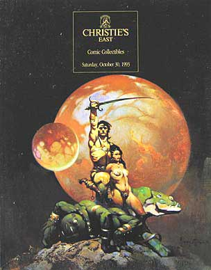 Christie's East Comic Collectibles 1993