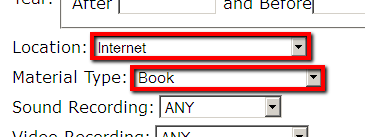 Finding ebooks in the catalog