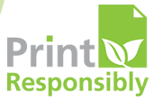 Print Responsibly Logo