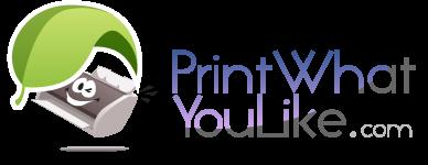 PrintWhatYouLike.com Logo