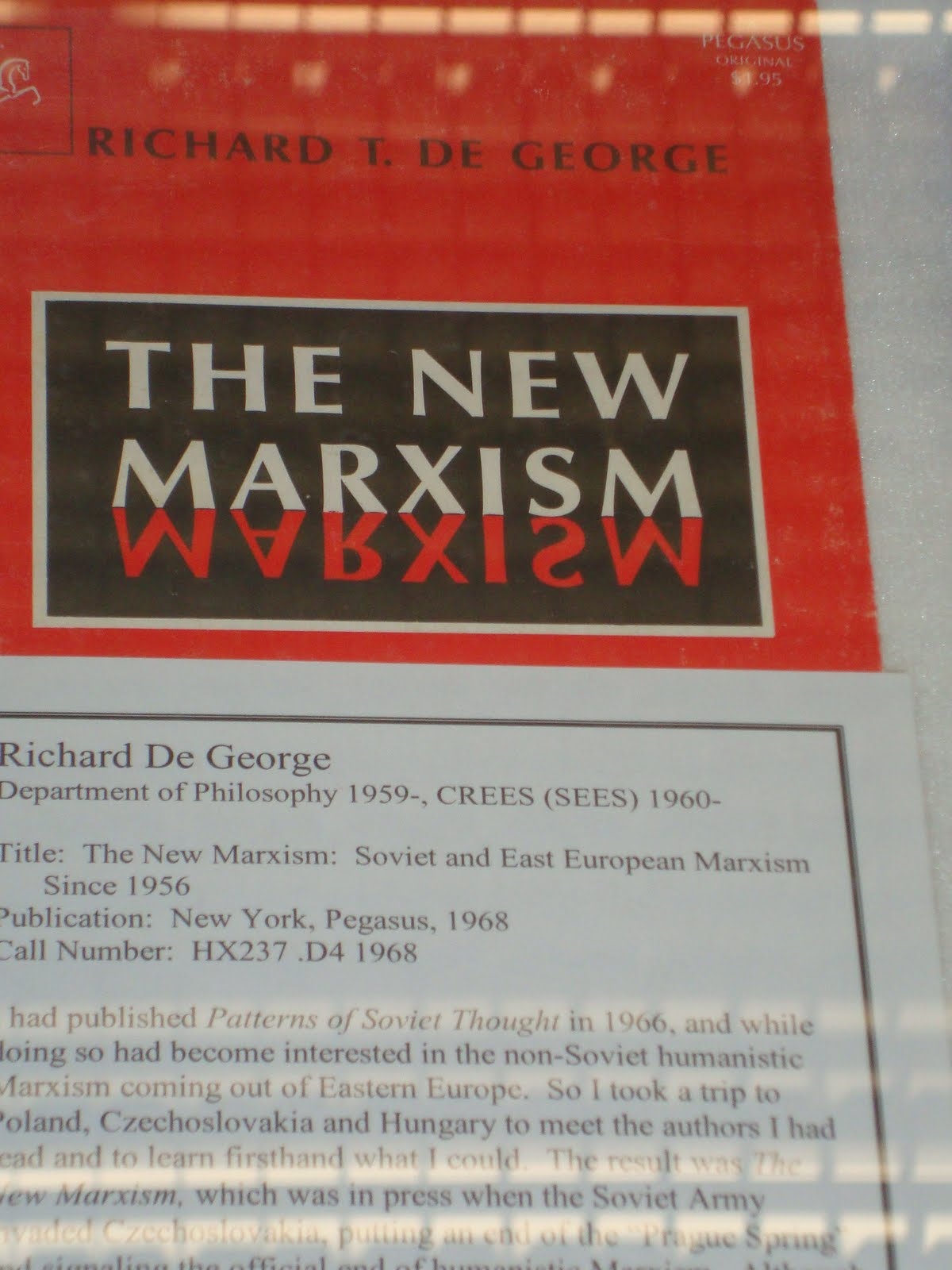 Book: The New Marxism