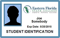 EFSC Student Identification Card