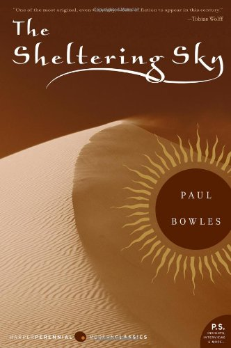 The Sheltering Sky book cover
