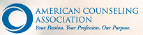 image of American Counseling Association logo