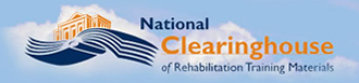 image of the National Clearinghouse of Rehabilitation Training Materials (NCRTM) logo