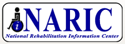 image for National Rehabilitation Information Center (NARIC) logo