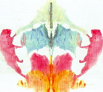 image of Rorschach Inkblot Color