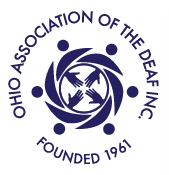 image of Ohio Association of the Deaf logo