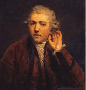 image of Sir Joshua Reynolds' self portrait