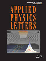 Cover Applied Physics Letters
