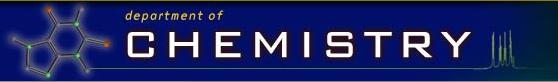 Chem Dept home page image