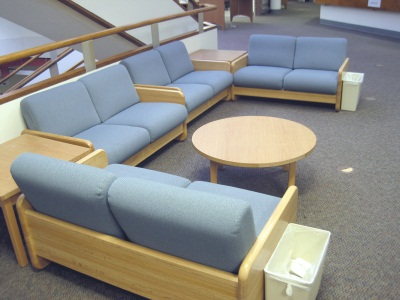 First floor seating area
