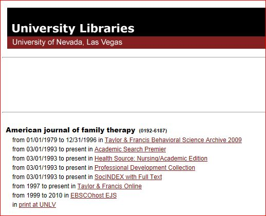 ejournal access options