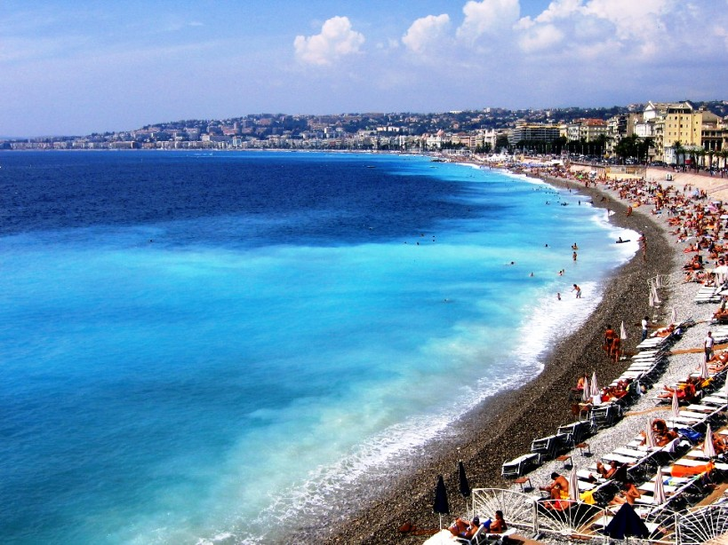 The Mediterranean at Nice