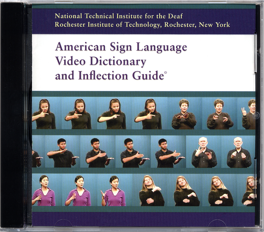 Screen shot of ASL Video Dictionary