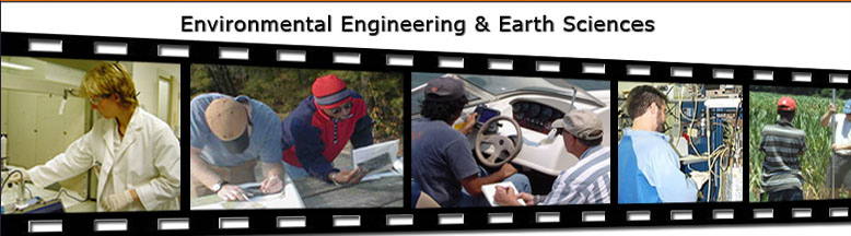 Environmental Engineering & Earth Sciences photo montage