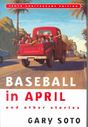 book cover for Baseball in April