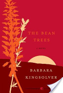 book cover for The Bean Trees