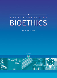 cover of Encyclopedia of Bioethics