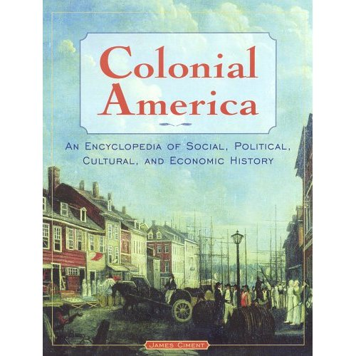 cover of Colonial America Encyclopedia
