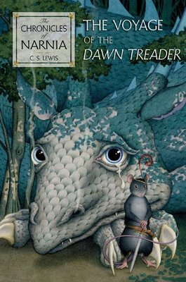 book cover for The Chronicles of Narnia The Voyage of the Dawn Treader