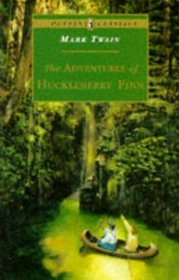 book cover for The Adventures of Huckleberry Finn