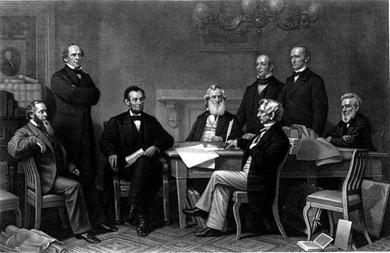 Emancipation Proclamation painting