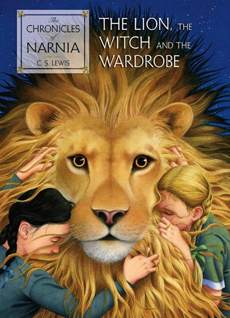 book cover for The Chronicles of Narnia: The Lion, the Witch and the Wardrobe