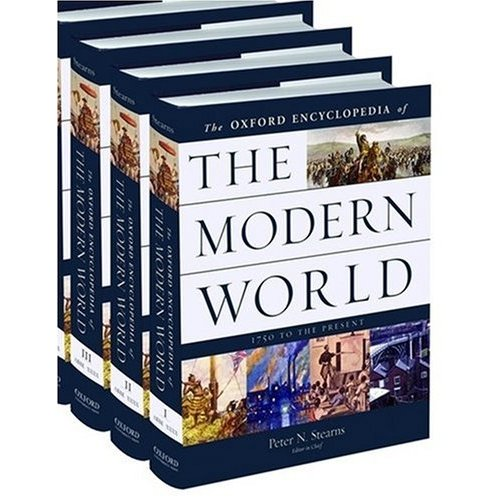 cover of Encyclopedia of the Modern World