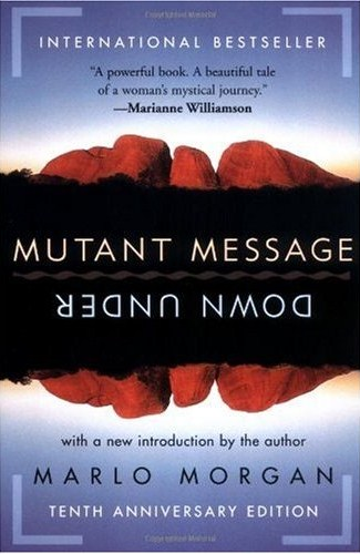 book cover for Mutant Message Down Under