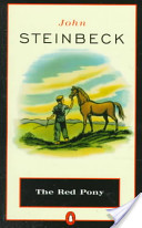 book cover for The Red Pony