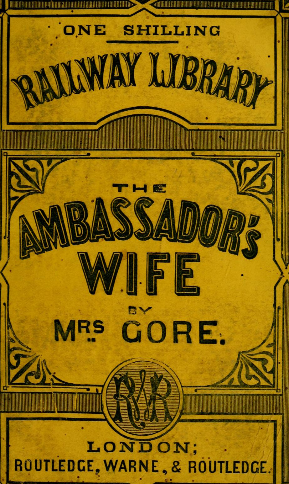 Cover of Ambassador's Wife, by Catherine Gore