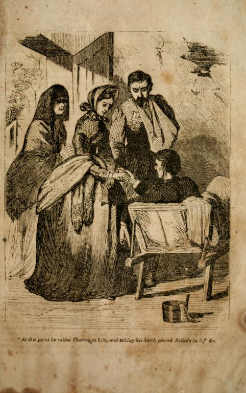 """From """"The Rivals,"""" by Mary Jane Haw (Richmond, 1864)"""
