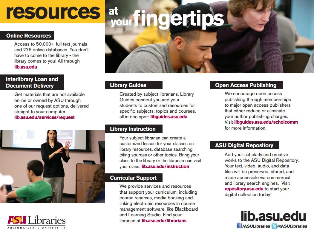 Resources at Your Fingertips