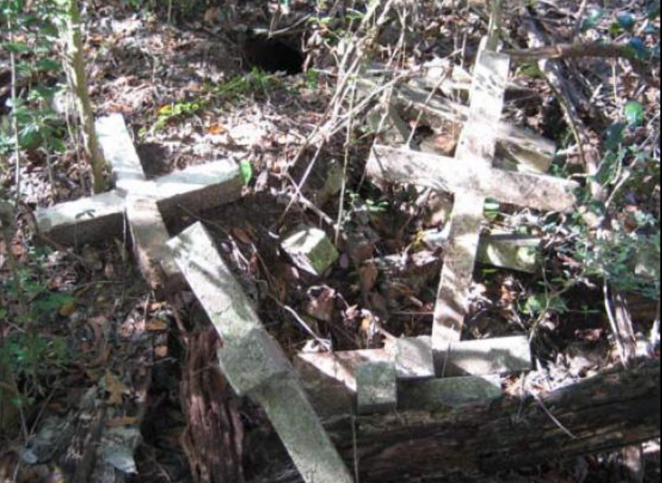 Discarded crosses