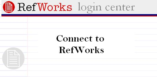 click here to connect to RefWorks