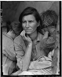 Migrant Mother by Dorthea Lange