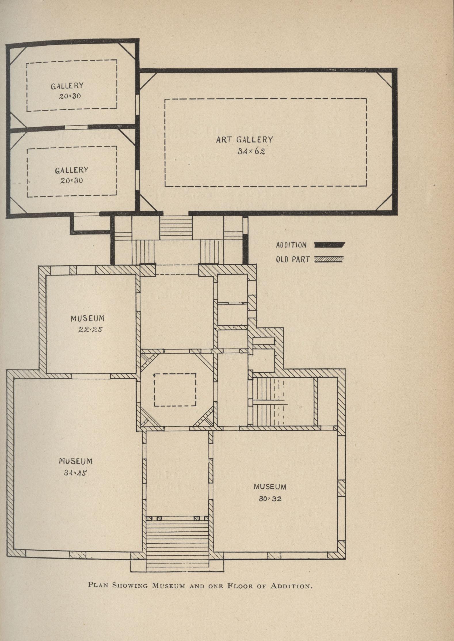 Waterman Building floor plan, 1896-1897