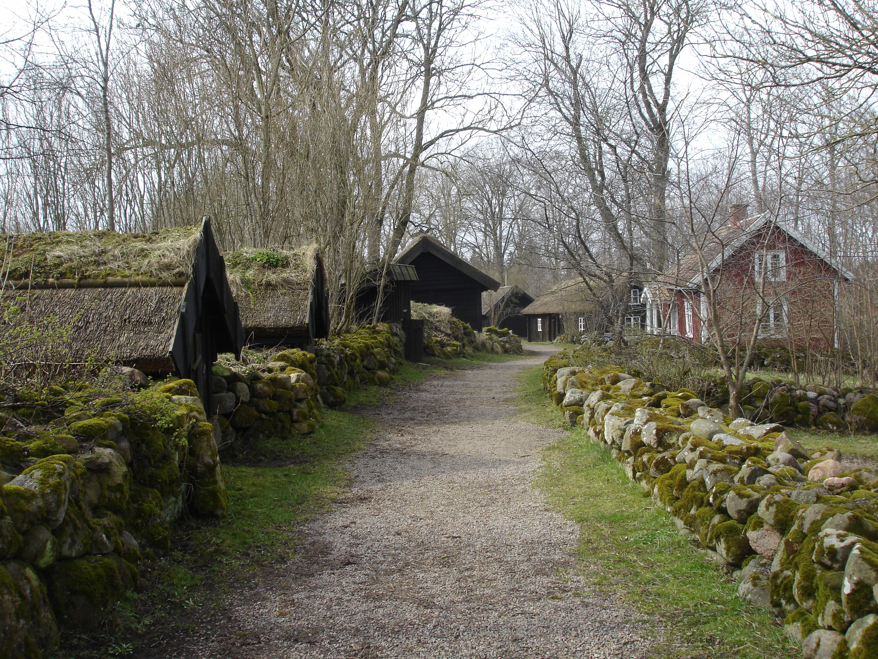 19th century Swedish village