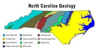 geologic map of north carolina