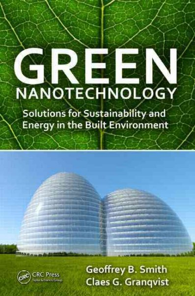 Nanotechnology book cover image.