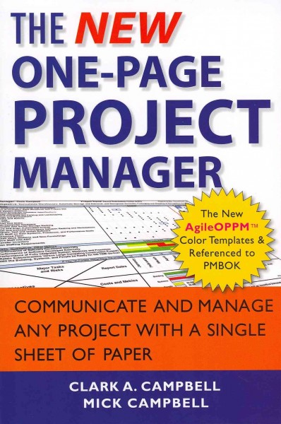 The new one page project manager.