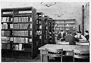 Library circa 1939