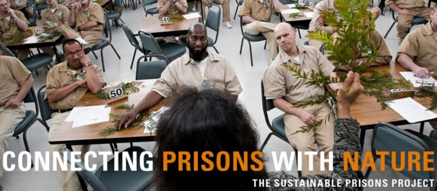 Prisoners at tables